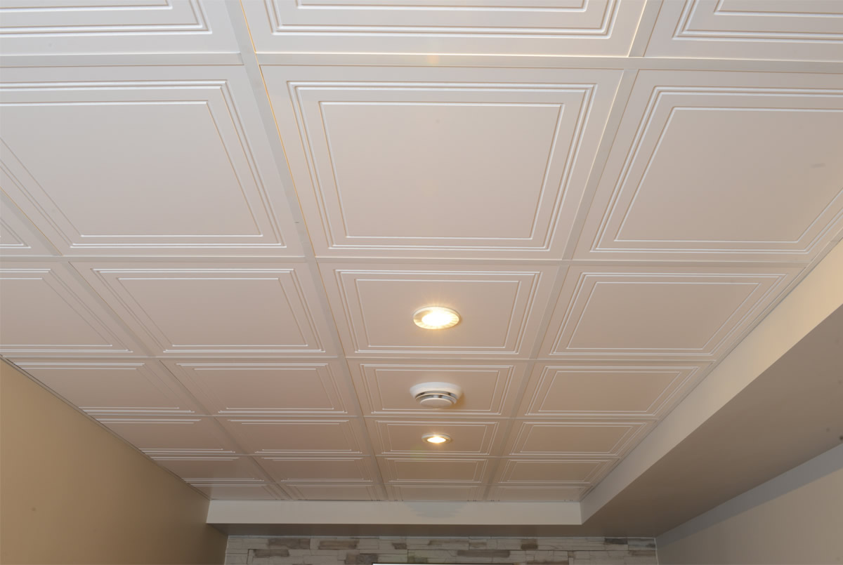 Model de plafond gascity for for Plafond suspente
