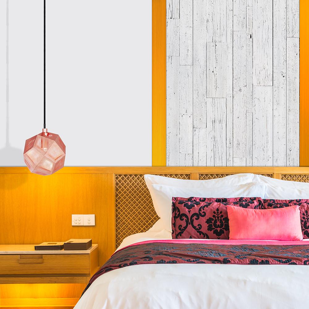 10 trucs pour relooker une pi ce petit prix sans peinture mur design. Black Bedroom Furniture Sets. Home Design Ideas