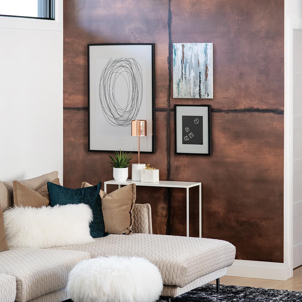 Metal Copper Murdesign