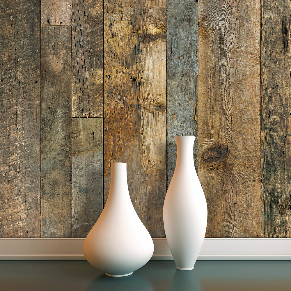 Le bois de grange en vedette mur design for Grange bois en kit