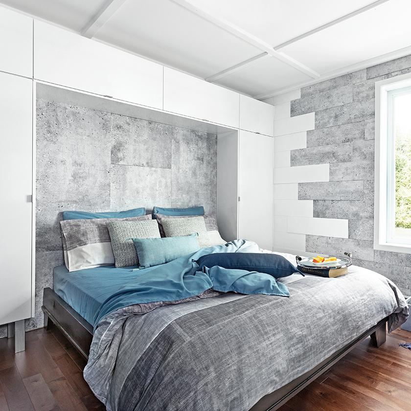 Mur vedette dans la chambre coucher mur design - Photos de chambre a coucher ...