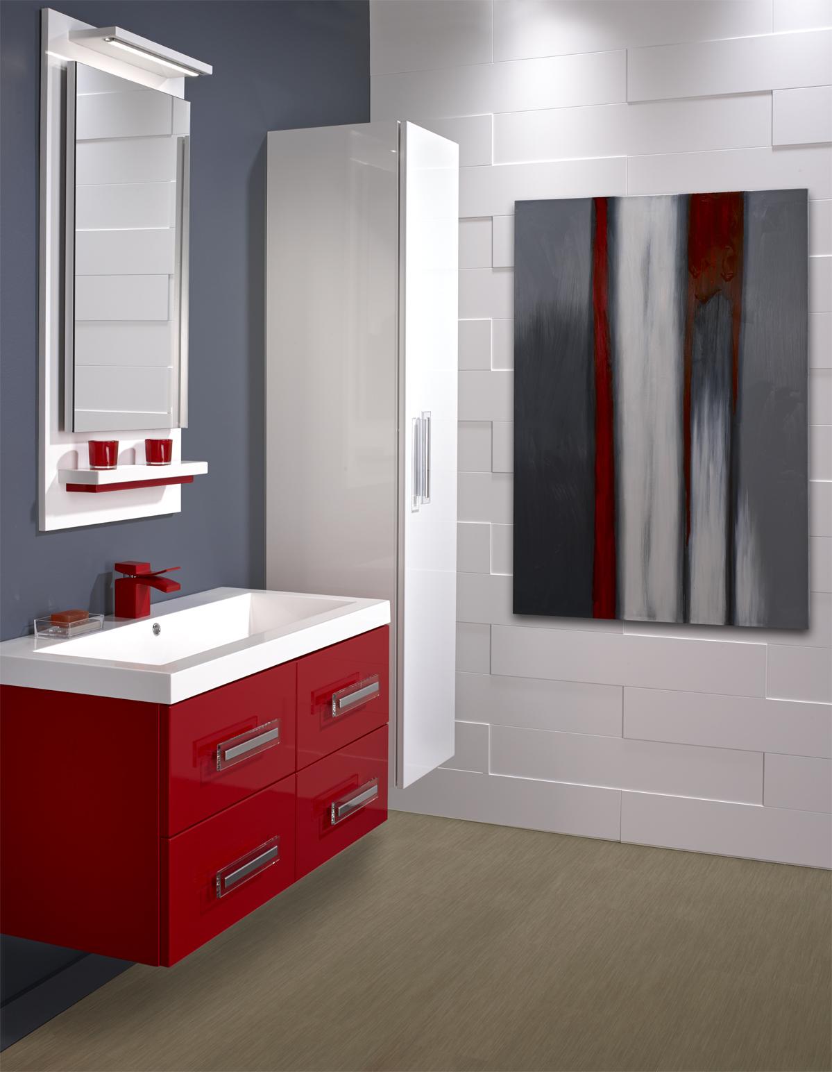 Salle De Bain Rouge Et Blanc inspiration blanc | murdesign
